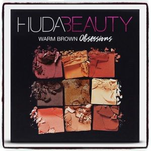 HUDA BEAUTY Makeup - HUDA Obsessions Eyeshadow Palette Warm Brown glam